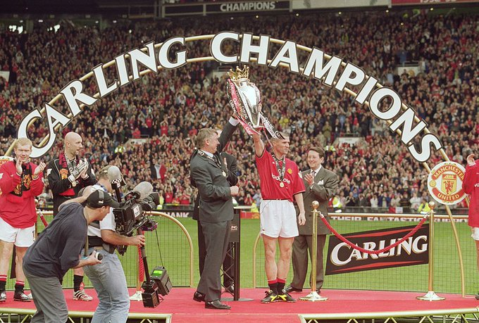 Happy birthday to Roy Keane! He won four Premier League titles and one Champions League as the captain of Man United