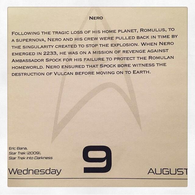 Star Trek (2009) August 9, 1968 - Happy Birthday to Eric Bana!