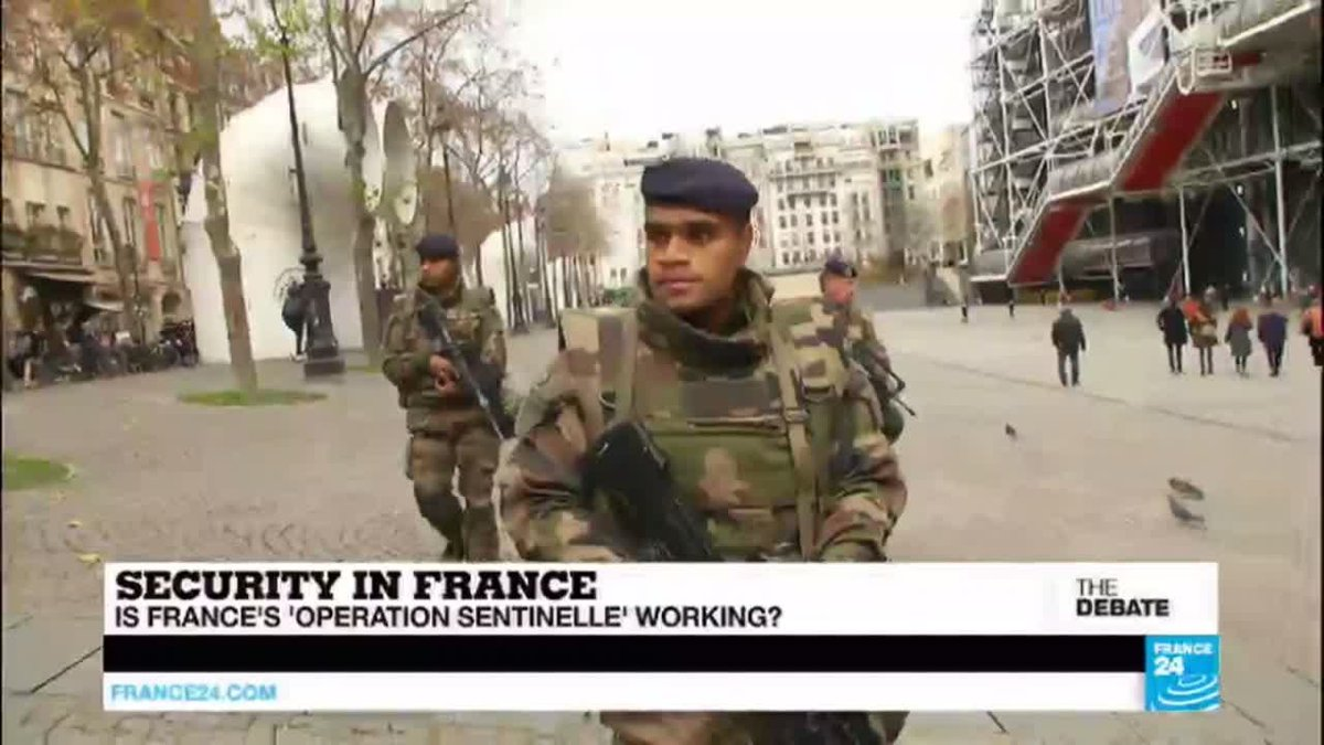 ?? THE DEBATE - Security in France: Is ''Operation Sentinelle'' working?