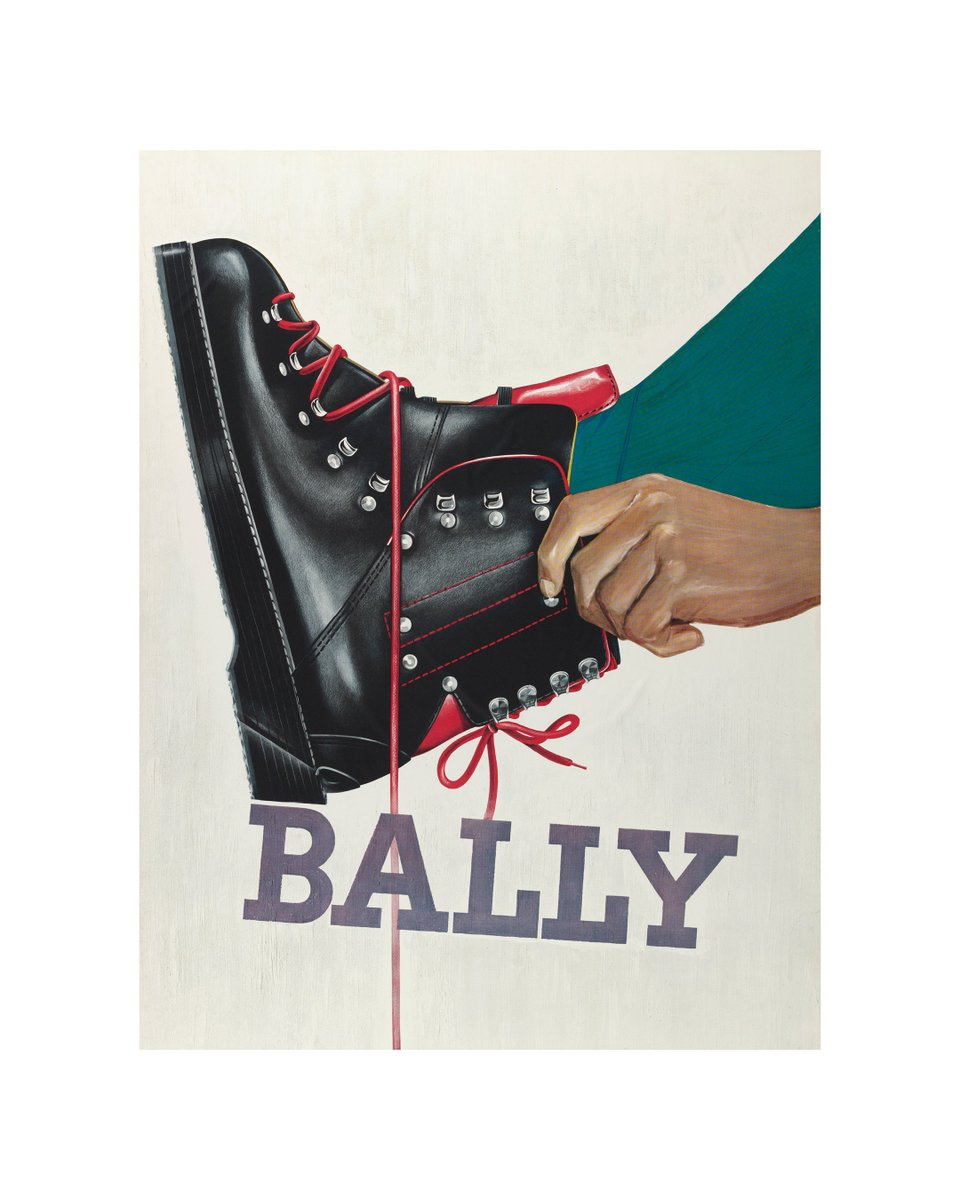 The hiking boot: a Bally staple since 1960. From the Bally Archive. https://t.co/VZN1VMk5xf