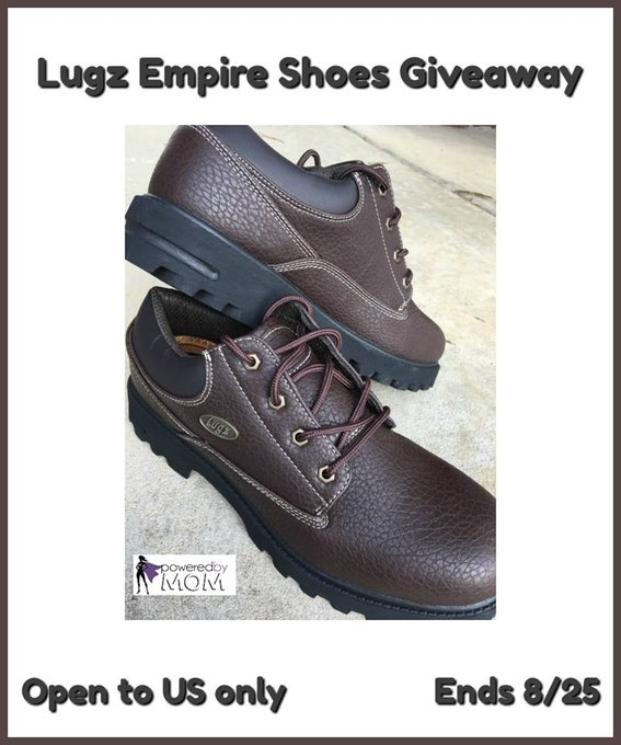 Lugz Empire Shoes for Him GA-1-US-Ends 8/25