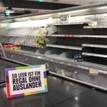 German supermarket removes foreign products to make a point about racism