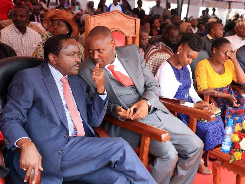 Is Kalonzo losing grip, as rival parties make inroads in his turf?