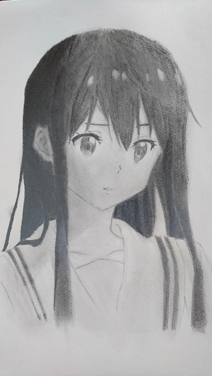 模写⑦「境界の彼方」名瀬美月を描きました!