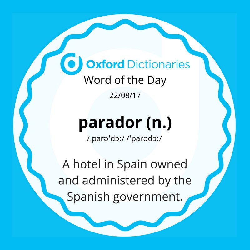 test Twitter Media - Word of the Day: parador https://t.co/pNr2JRUDPH https://t.co/BFUVIANTCG