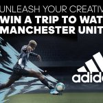 GET CREATIVE WITH ADIDAS OCEAN STORM BOOTS AND WIN A TRIP TO WATCH MANCHESTER UNITED!
