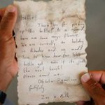 Fisherman in isolated Gaza nets message in a bottle from holidaymakers in Greece