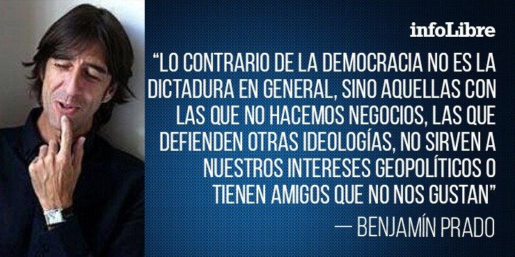 'Los dictadores buenos y los malos', el artículo de @pradobenjamin