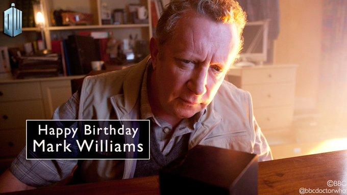 Happy Birthday to Mark Williams AKA Rory\s dad Brian!