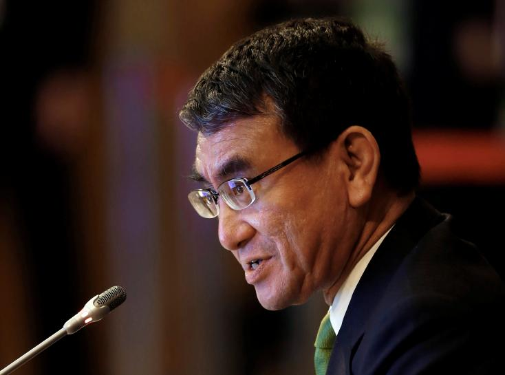 Japan's new foreign minister says it is time to exert pressure on North Korea