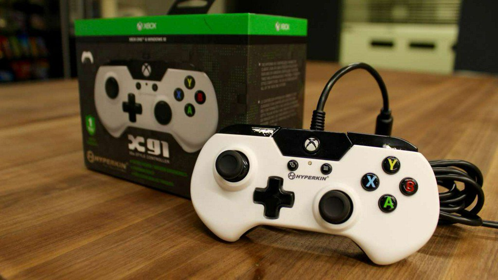 SNES-style controller for PC and Xbox One - Hyperkin X91 impressions...
