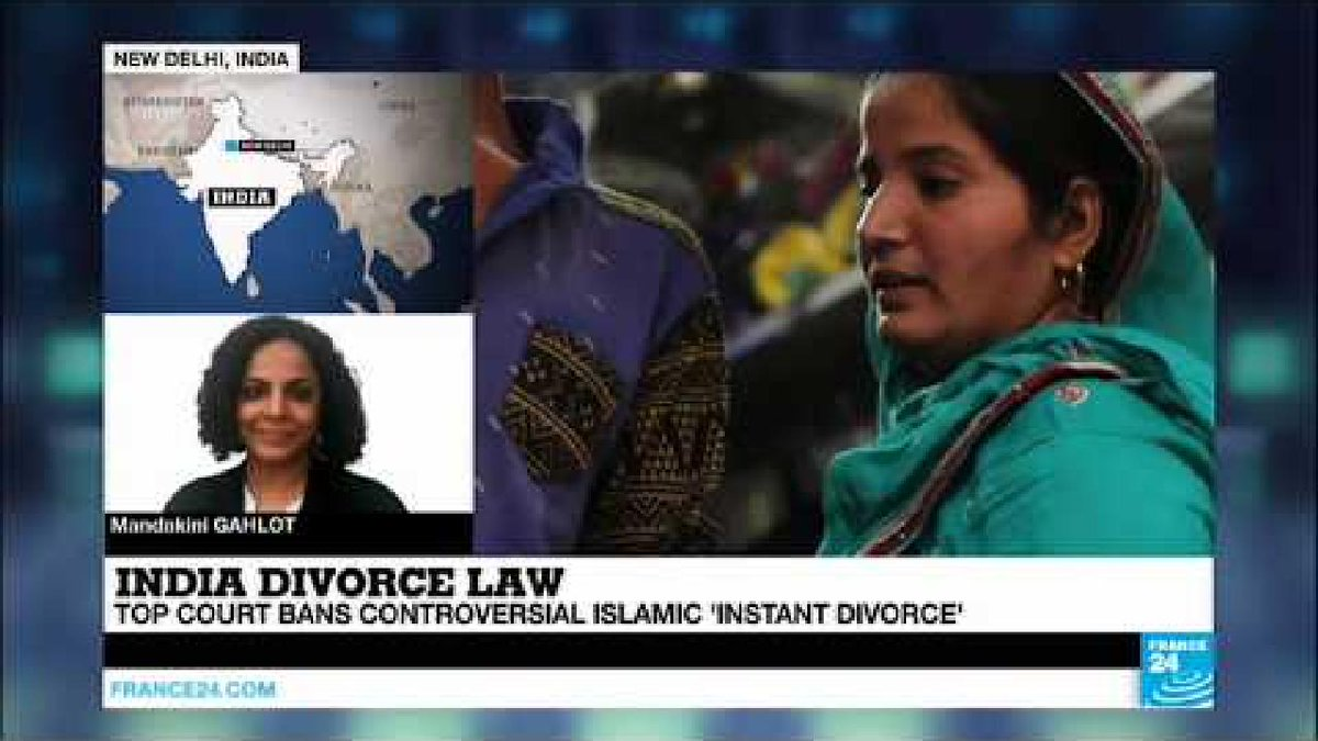 ?? India: Top court outlaws practice of Islamic 'instant divorce'
