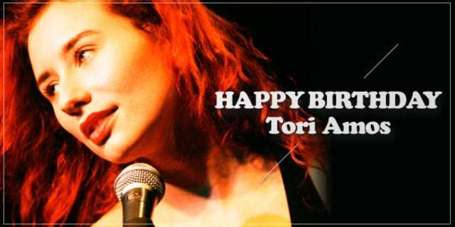 Happy Birthday Tori Amos!  Me and a gun,live Montreux