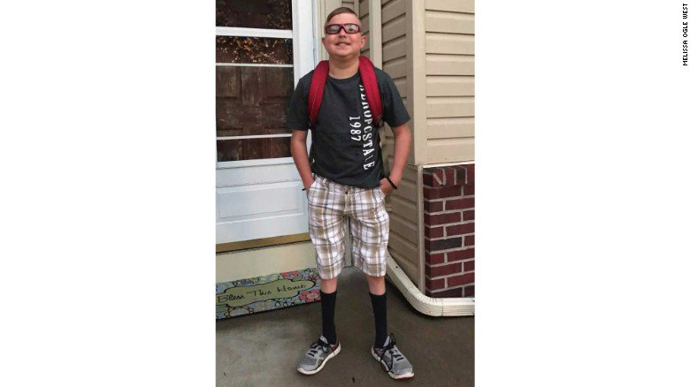 Boy with heart transplant dies on first day of new school year https://t.co/87nSUtheRi https://t.co/bOM28Jc8cY