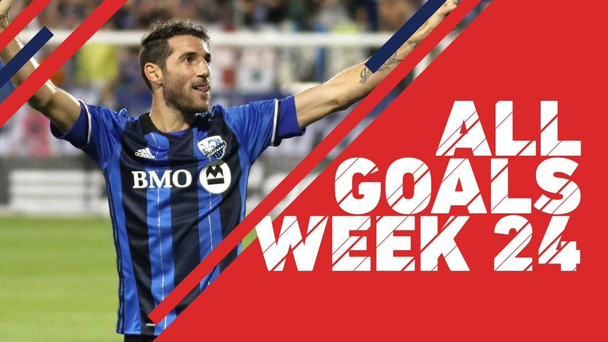 Piatti igniting Montreal surge | All Goals, Week 24 https://t.co/sQj58SG7vW https://t.co/nhPWpE2P8Z