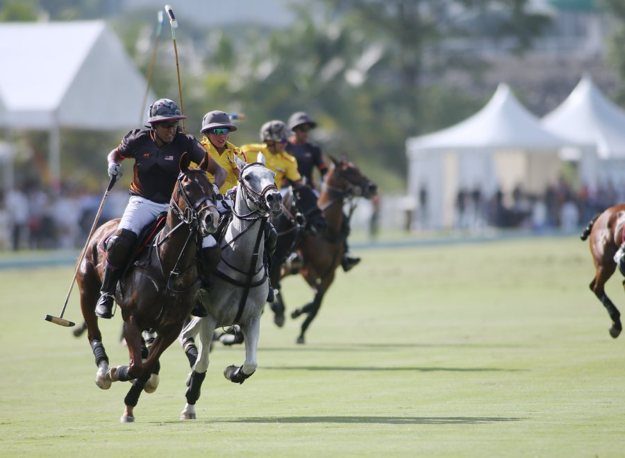 Malaysian polo team, featuring KJ, gallops to 12-4 victory over Brunei
