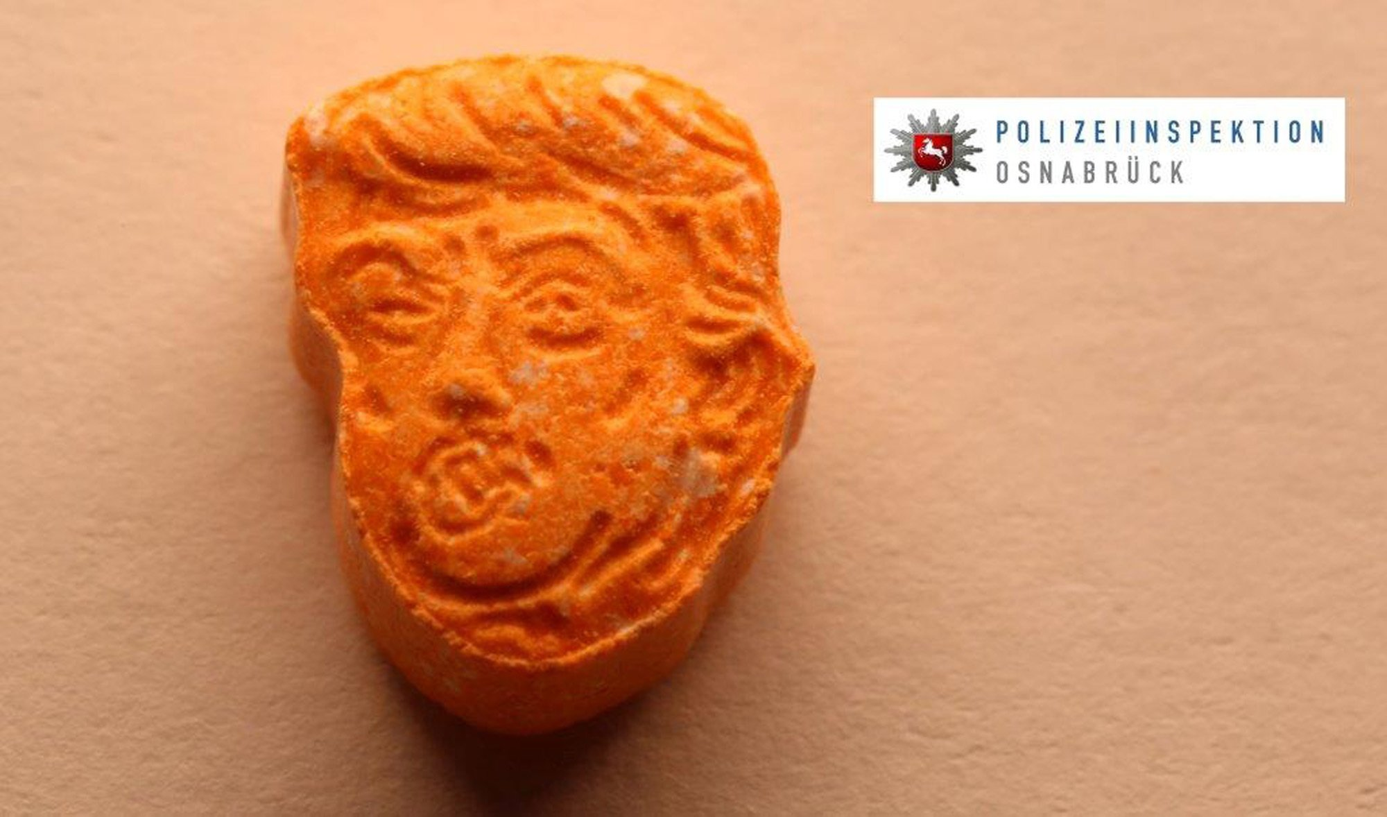 German police seize thousands of ecstasy tablets in the shape of Pres. Donald Trump's head https://t.co/zAmyGqlaBN https://t.co/3nutRoRO8B
