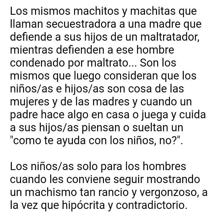 RT @Estilanestea: Mi apoyo a madres y mujeres corajes y valientes como son María José Carrascosa o Juana Rivas ♀💪 https://t.co/bphyqLs6Xq
