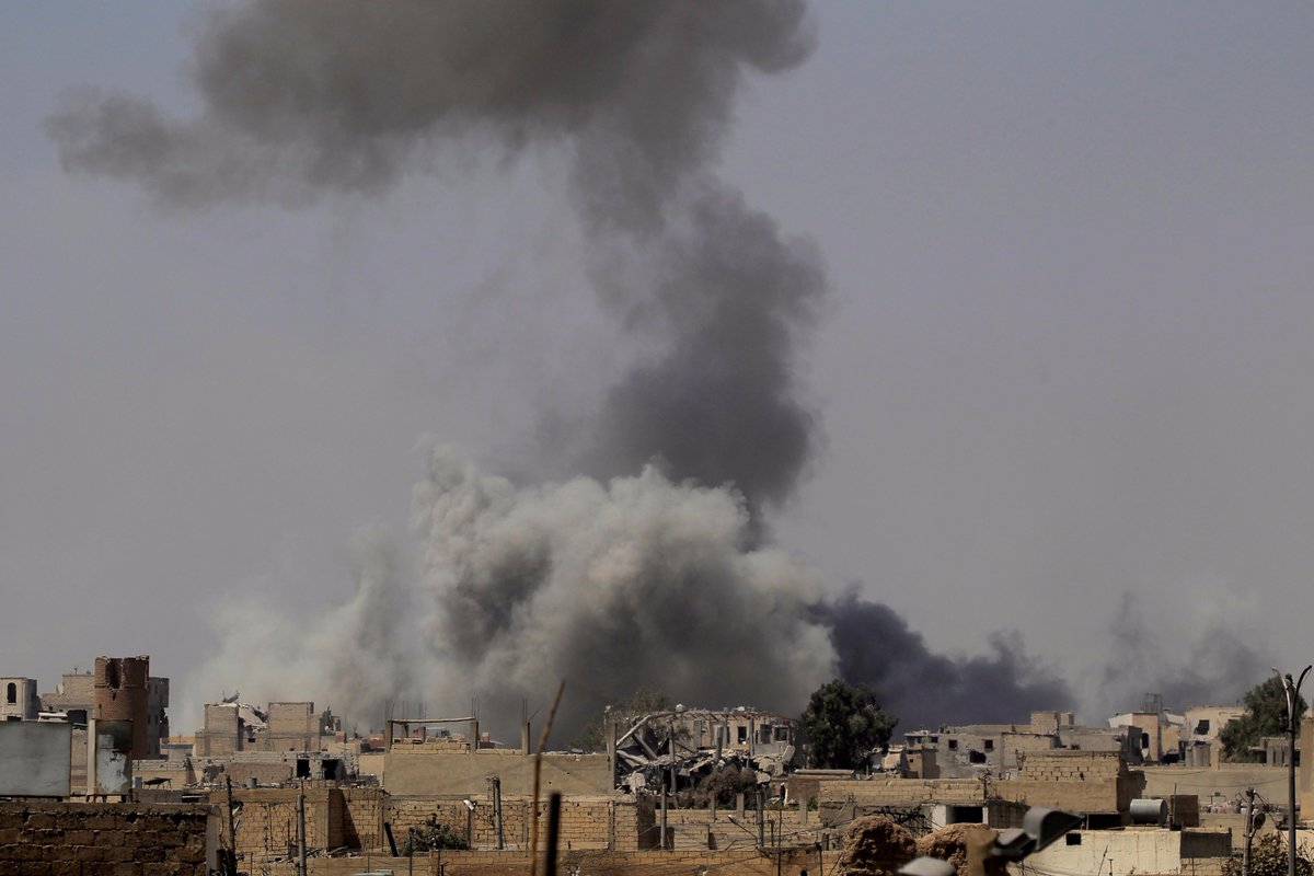 Syria: US air strikes kills over 170 civilians in Raqqa