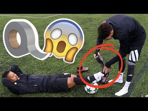 SHOCKING DUCT TAPE FOOTBALL BOOT EXPERIMENT! https://t.co/UTaEeImagV https://t.co/BTEbeQYDbS