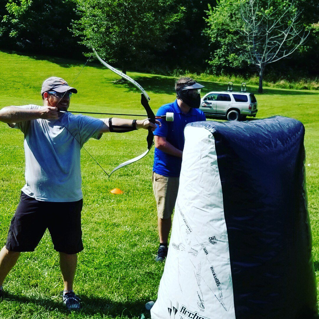 test Twitter Media - Our Architecture team channeled their inner William Tell for an afternoon of #teambuilding #archerytag.  #softwarearchitecture https://t.co/3LLzhud19C