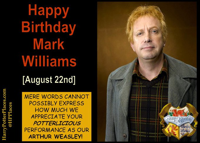 Happy Birthday to Mark Williams;