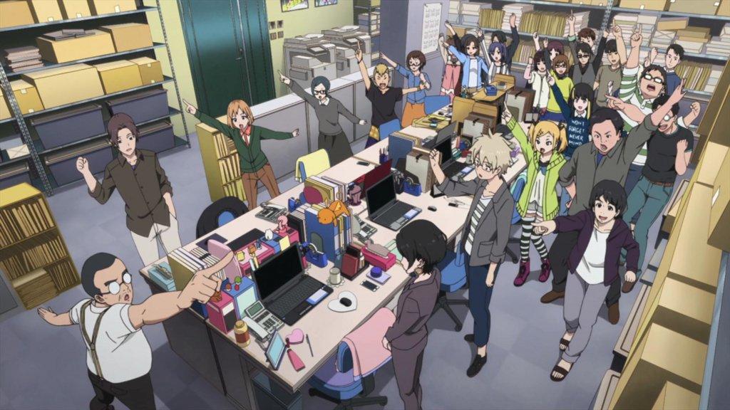 興津さん、素敵ですよね~。机の上の小物が可愛いというギャップも好き(*´ー`*)SHIROBAKO過去編があれば制作進