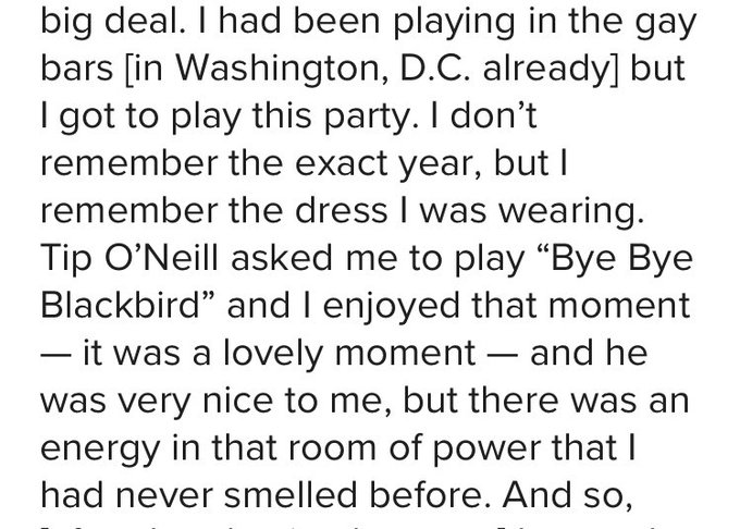 Happy birthday to Love this Tip O\Neill story.