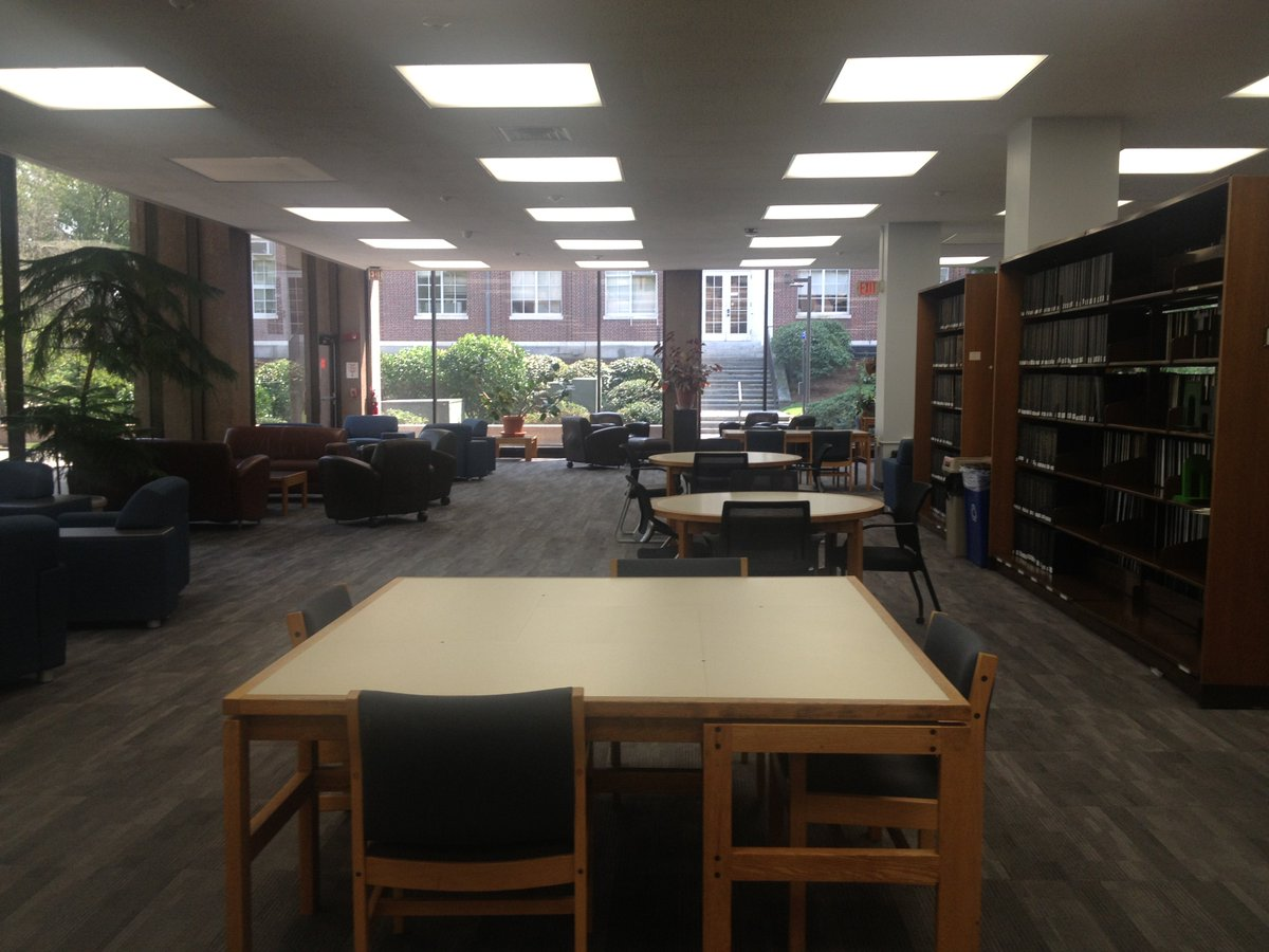 test Twitter Media - SciLi renovation - open for business & looking good after the flood! Thanks to Wes Physical Plant & Univ Lib staff for all your hard work. https://t.co/HdRkzltWVA