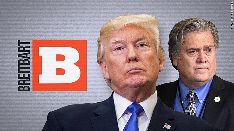 """Far-right website Breitbart chides President Trump for his """"flip-flop"""" on Afghanistan policy"""