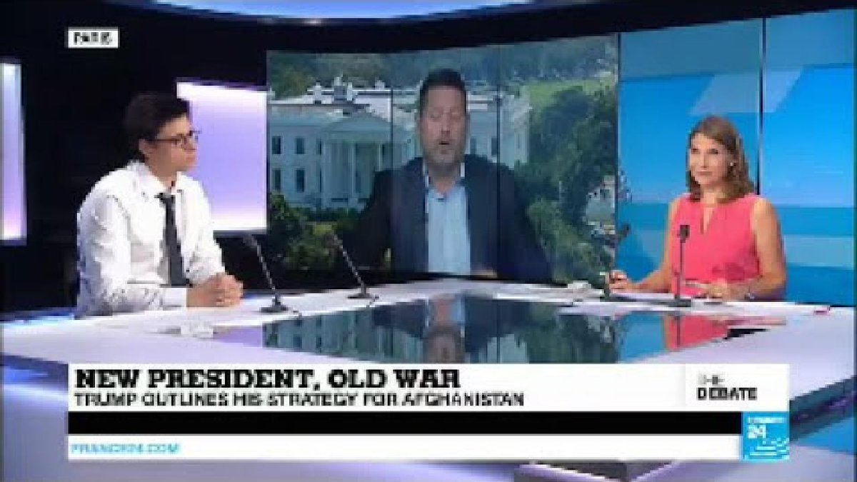?? THE DEBATE - New President, Old War: Trump outlines his strategy for Afghanistan