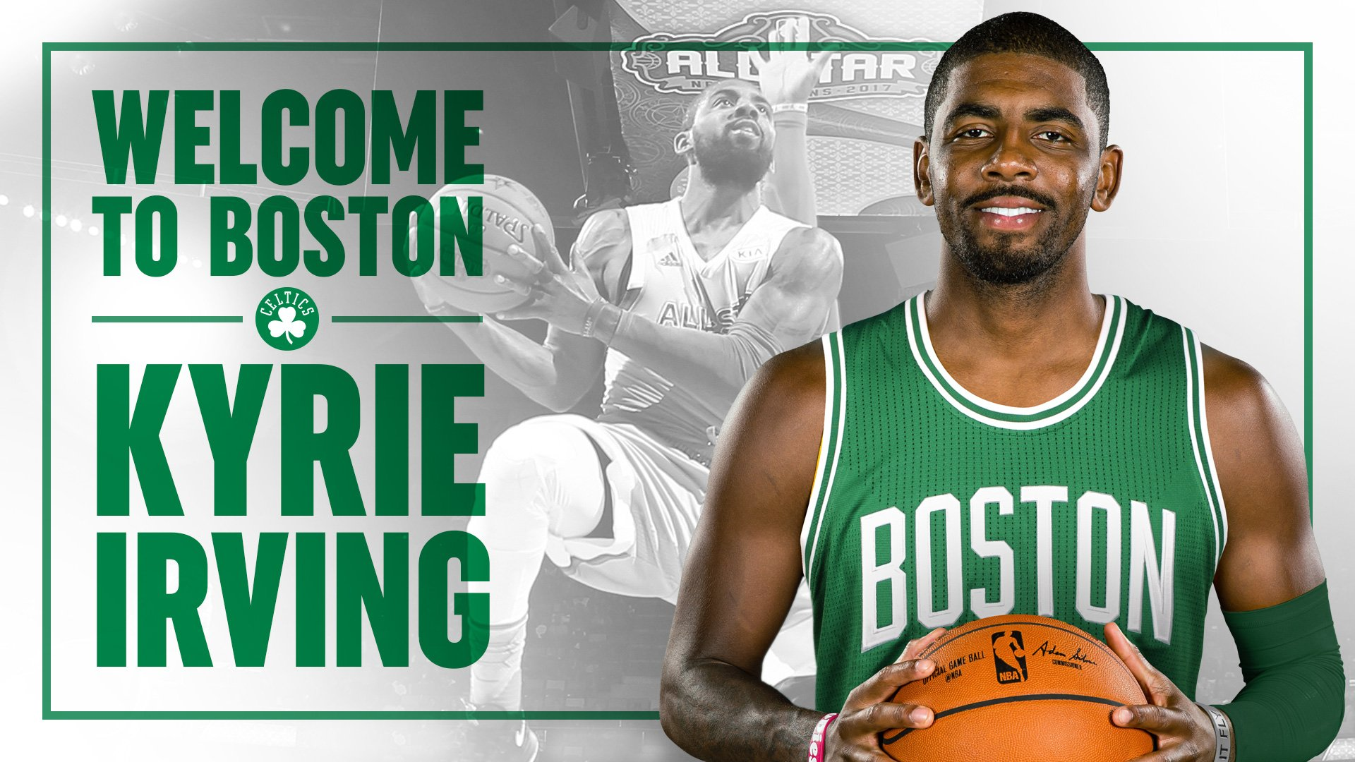 We have acquired four-time All-Star @KyrieIrving in a trade with the @cavs.  ��: https://t.co/BsoQtsX2FD https://t.co/TqYQnXsYwy