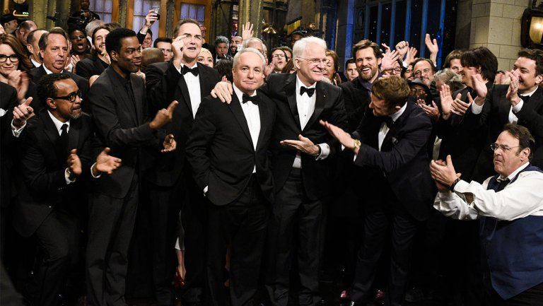 'Awards Chatter' podcast — Lorne Michaels (@nbcsnl)