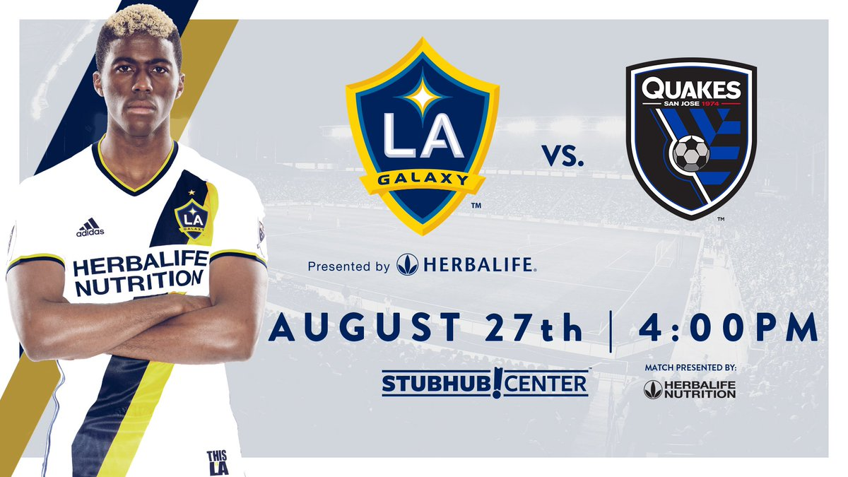 Back home Sunday just in time for #RivalryWeek 👊: https://t.co/Xy8NjCoU3Q #LAvSJ https://t.co/WcLP30PvDj