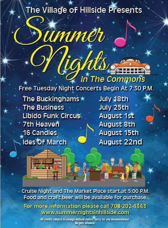 "test Twitter Media - Come on out tonight for the final concert as part of the ""Summer Nights in the Commons"" in Hillside and have some #FunAroundthe7th!#Hillside https://t.co/mJWmKx0HaU"