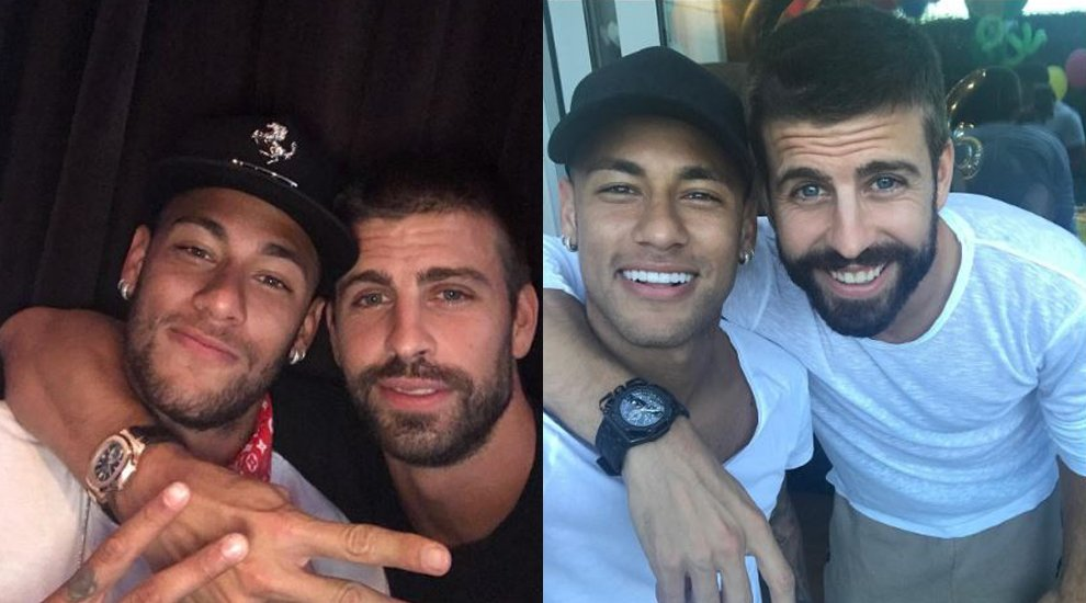 ...Y Neymar devolvió el 'se queda' a Piqué https://t.co/vLjAkJulF8 https://t.co/AgzhNFGMi6
