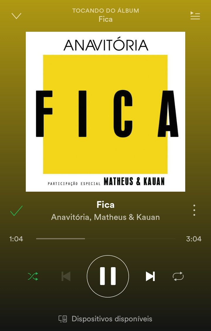 #EscuteFicaNoSpotify