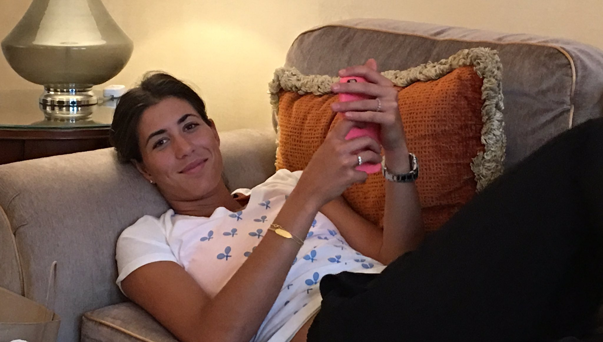 Resting... Descansando... ���� NYC!! @usopen @WTA https://t.co/YQiZMRhOkT