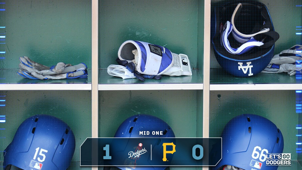 Mid 1:  #Dodgers 1, Pirates 0  �� https://t.co/UUhVVy6tBq