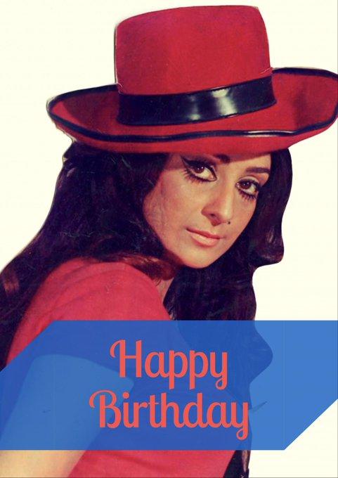 Happy Birthday Saira Banu ji .. Dher Sara pyar Aur Sneh Israel se