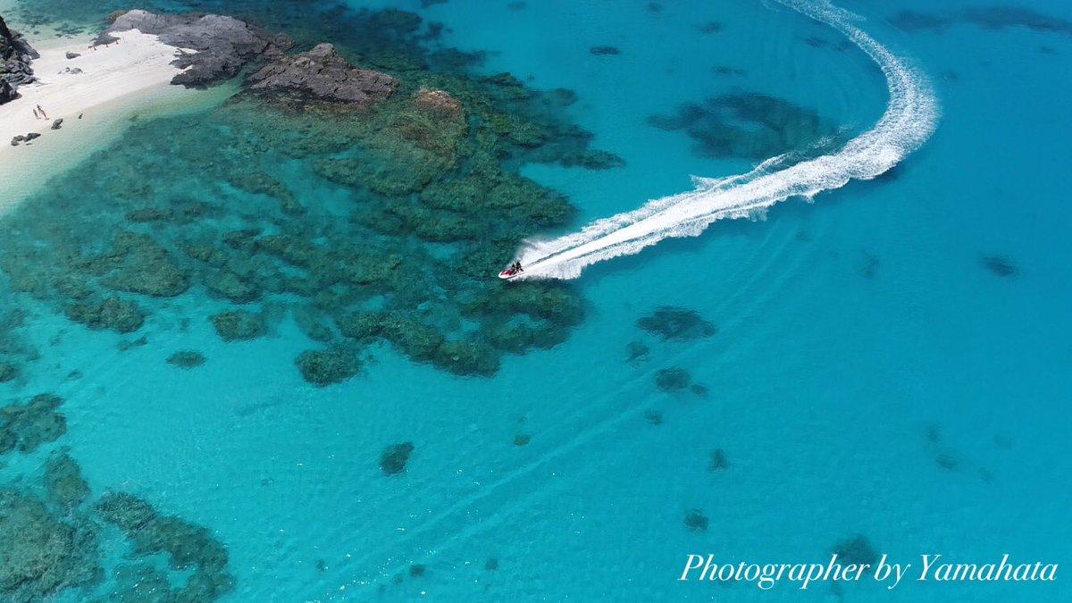 慶良間ブルーの海が尋常じゃなく綺麗だった。part Ⅱ photograph By ドローン DJI Phantom4P