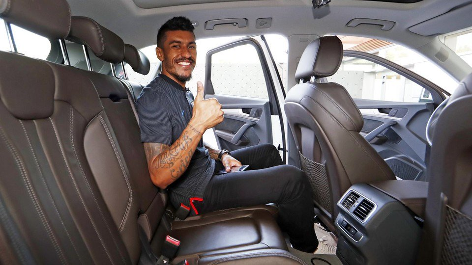���� Check out our chat with Paulinho...in the back of the car! �� https://t.co/Le9DTJAQvA https://t.co/oCAg5YCEOh