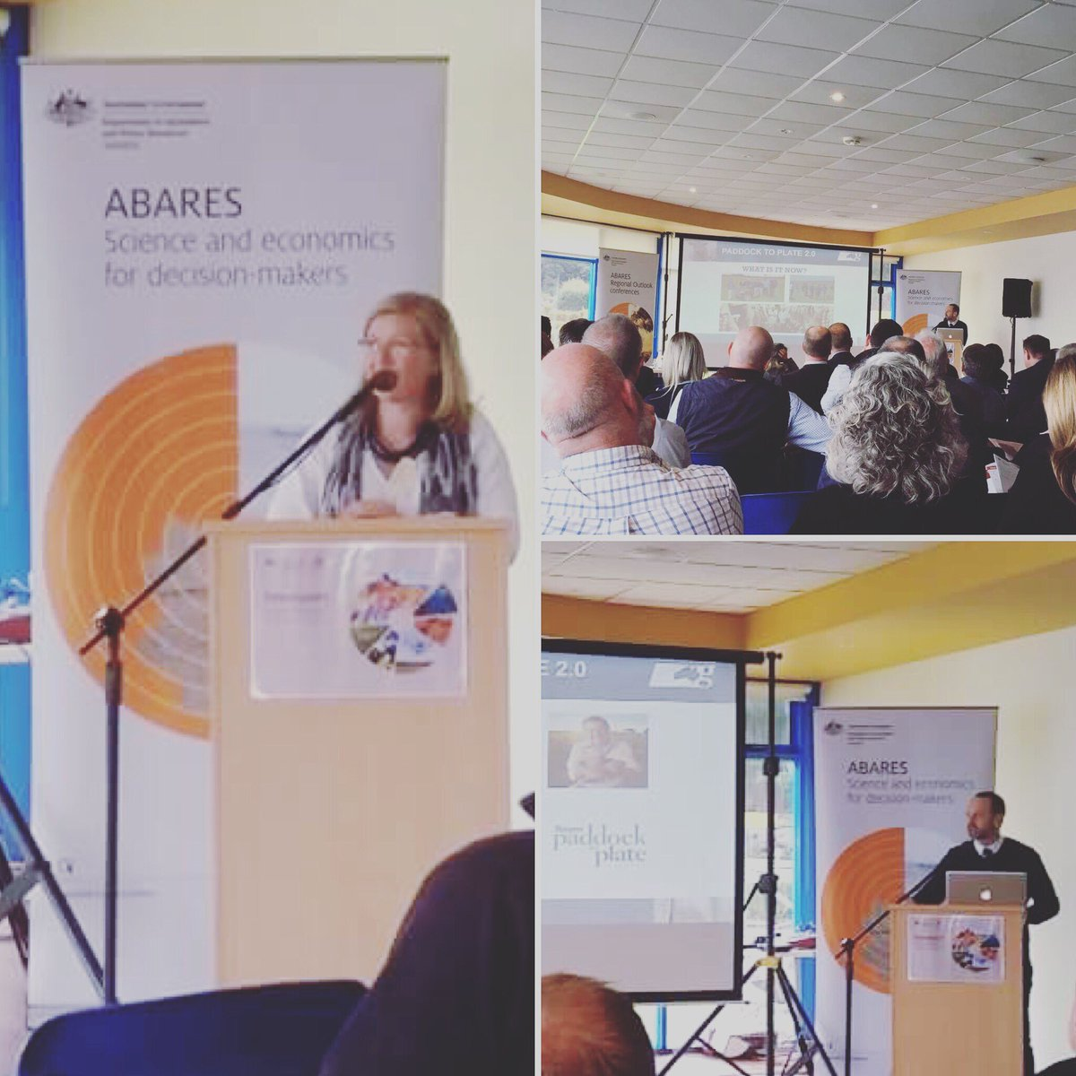 #ABARES Regional Outlook conference in Devonport...