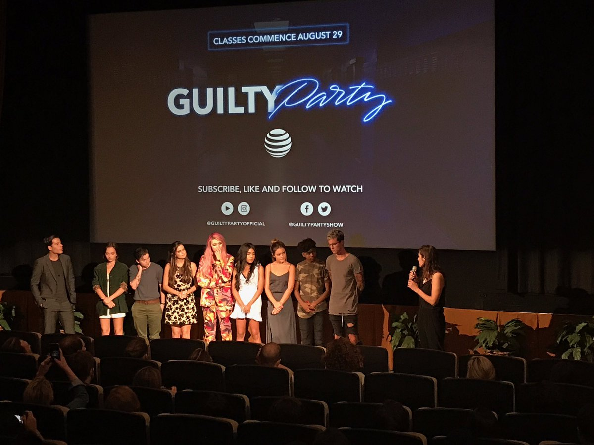 RT @ATTHelloLab: EP/Co-director @kellylandry hosting a Q&A with our wonderful #guiltyparty actors and actresses! https://t.co/a1sAZTgLMK