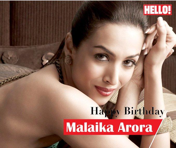 HELLO! wishes Malaika Arora a very Happy Birthday