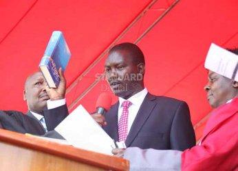 Security and 2022 succession politics dominate Mandago swearing in