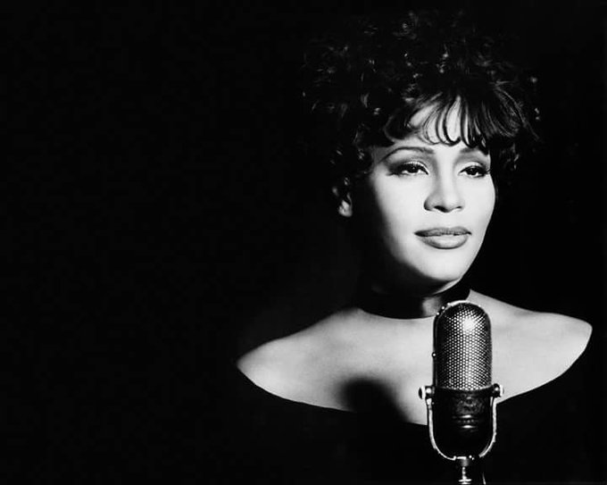 Happy Belated Birthday from the one and only Ms Whitney Houston.. Gone but never forgotten.