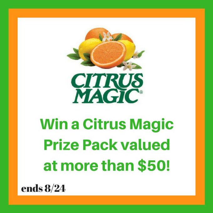 Citrus Magic Prize Pack Giveaway (arv $50)-2 Winners-US-Ends 8/24