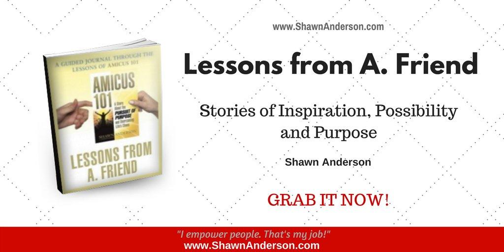 RT @ToShawnAnderson: Lessons from A. Friend https://t.co/BSs4u4VG6u #bookboost #ASMSG #IARTG #AMWRITING https://t.co/WHZcrg7Otg