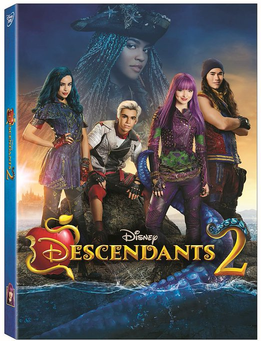 #WIN Descendants 2 DVD [8/25]
